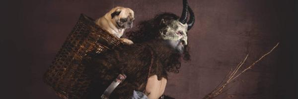 Krampus With Pug