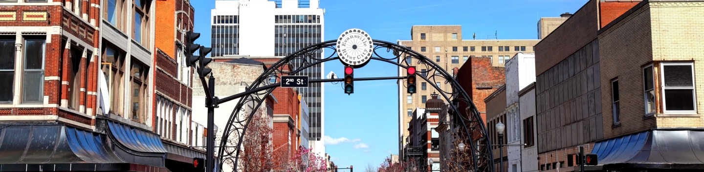 Photograph of Evansville IN