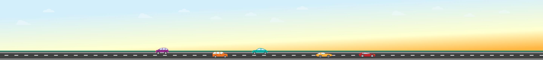 sunrise over a road